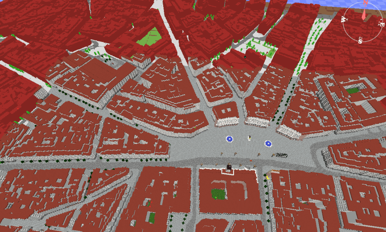 Mapa Minecraft Madrid